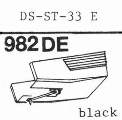 HITACHI DS-ST-33 stylus, diamond, stereo ORIGINAL