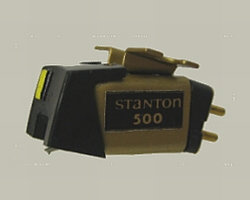 STANTON 500ALII BODY MET. Original Cartridge