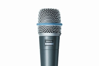 SHURE BETA 57-A MICROPHONE