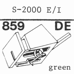 EMPIRE 2000 E/1 HYPER Elliptische Nadel