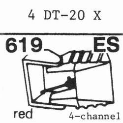 NIVICO 4DT-20X SHIBATA 4-CH Stylus