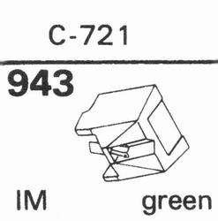 NAGAOKA CM-721 Stylus, diamond, stereo
