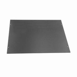 MODU  Galaxy 330mm aluminium top cover, oxidised, 280mm<br />Price per piece