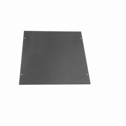 MODU Galaxy 230mm aluminium top cover,  oxidized, 280mm<br />Price per piece