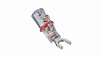 WBT-0661Ag, 6mm, silver plated, max. 10mm2 cable. Box 2 Prs