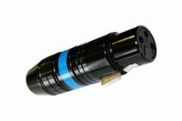 KACSA MC-946G, XLR connector female, black