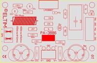 ELTIM PA-3886 LP, 80W Versterker module<br />Price per piece
