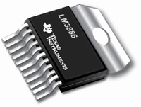TI LM3886T/NOPB, 80W IC amplifier, TO220/11