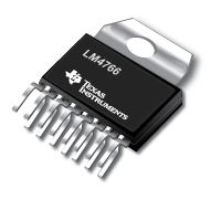 TEXAS INSTRUMENTS LM4766T, 2x50W Amplifier IC, TO220-15