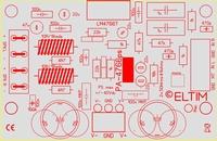 ELTIM PA-4766 LP, 2x50W Versterker module<br />Price per piece