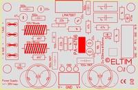 ELTIM PA-4766 ST, 2x50W Versterker module<br />Price per piece