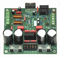 ELTIM PA-4766ps NHG , 2x50W Amplifier/power supply module