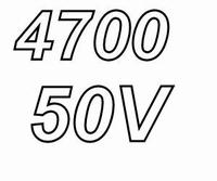 NICHICON GU elco, 4700μF/50 V, Ø25x35mm, 3000h, 105°C