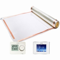 Thermo Lamina floor heating foil + thermostat, 10 meter