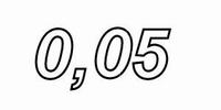 CADDOCK MP2060,  0,050ohms, 1%, 60W, TO-220