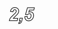 CADDOCK MP2060,  2,5ohms, 1%, 60W, TO-220