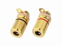 MONACOR BP-250G,  Speaker terminal pair