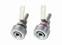 MONACOR BP-410,  Speaker terminal pair