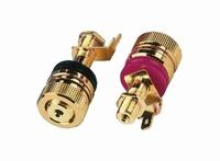 MONACOR BP-520G,  Speaker terminal pair
