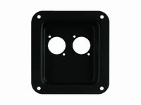MONACOR CP-5/SW,  PA terminal,plastic, black