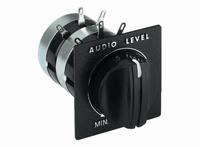 MONACOR LP-200-8,  L-pad attenuator, stereo, 15W
