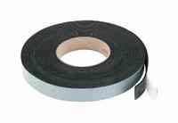 MONACOR MDM-35,  Rubber sealing tape, black, 10mtr