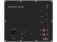 MONACOR SAM-200D,  Class D active subwoofer module, 200 W at