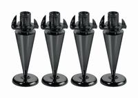 MONACOR SPS-35/SC,  Set of speaker spikes, 4pcs.