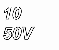 Panasonic FR, 10uF/50V, pitch 2,0mm, 105º, low ESR, 10.000hr