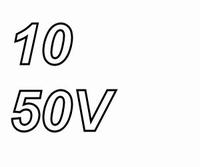 PANASONIC FRA, 10uF/50V, elcapacitor, radial, 105º, low ESR,