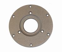MOREL IDR faceplate, Ø 104mm, silver, fits on older MDT mode