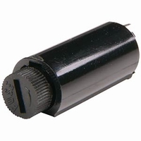 Fuseholder, PCB mount, vertical, pitch 8mm, for 5x20mm fuses