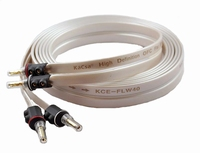 KACSA KCE-FLW40-3, speaker cable, bananas, 2x3mtr.