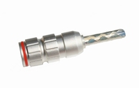 KACSA BP-026S, beryllium copper banana, insulated