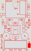 ELTIM BinLout-134, XLR balanced > line converter module