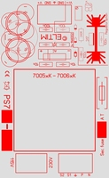 ELTIM PS715, Single voltage power supply module, 15VA