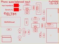 ELTIM PrePHONO 2U-XLR, MM/MC Phono amplifier module, 2U