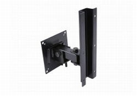 DAS AXW-3, Wall mount bracket and safety cable, black