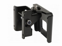 DAS AXW-4, Wall mount bracket and safety cable, black