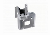 DAS AXW-4-W, Wall mount bracket and safety cable, white