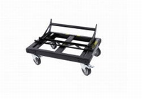 DAS PL-20S, Steel transport dolly, black