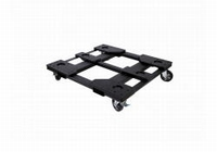 DAS PL-221S, Steel transport dolly. black