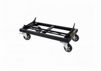 DAS PL-40S, Steel transport dolly, black