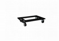 DAS PL-EV115S, Wooden transport dolly, black