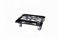DAS PL-EV208S, Steel transport dolly, black