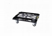 DAS PL-EV210S, Steel transport dolly, black