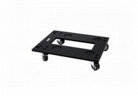DAS PL-SFMS, Wooden transport dolly, black