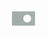 SIL-PAD 400,  insulation pad for TO-126,self adhesive