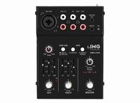 IMG MMX-11USB, 2-channel miniature audio mixer + USB
