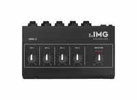 IMG MMX-4, 4-channel miniature microphone mixer